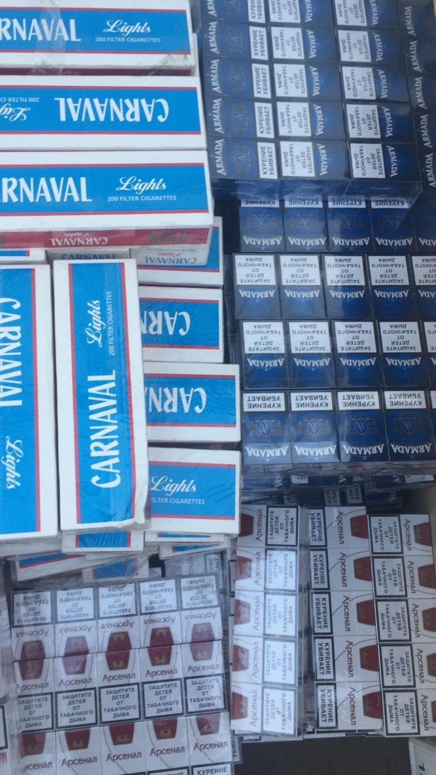 Краматорские пограничники обнаружили безакцизные сигареты, фото-1