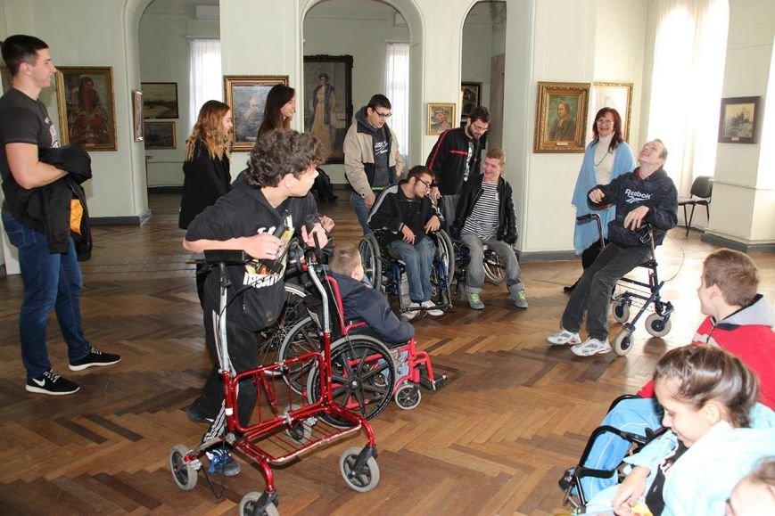 Херсонський музей відвідали діти з особливими потребами (фото), фото-1