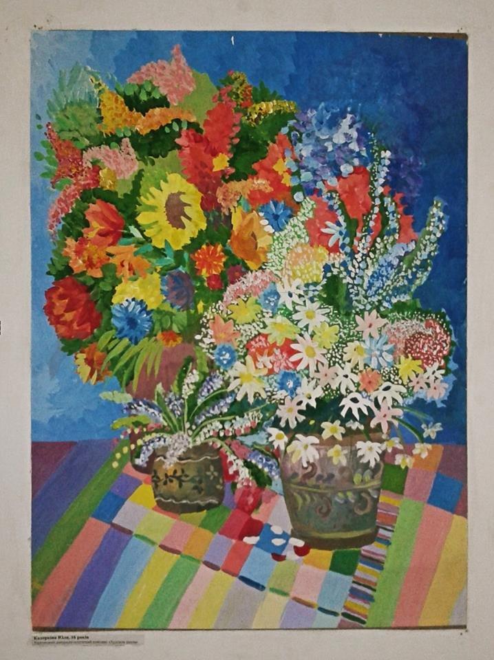 """В Херсоне в помещении Суворовского райсовета работает выставка, создающая """"хорошее настроение"""" (фото), фото-1"""