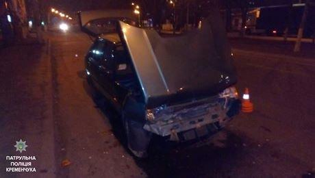 """У Кременчуці """"синій"""" водій розігнався на авто і потрапив у ДТП (ФОТО), фото-2"""