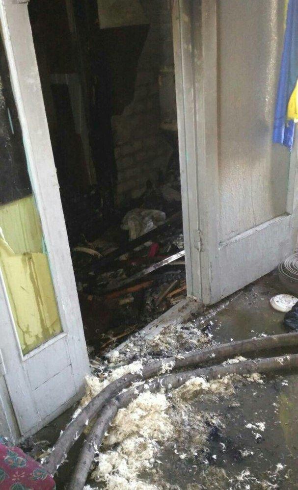 Пожар в многоэтажке Днепра: загорелся мусоросборник (ФОТО), фото-2