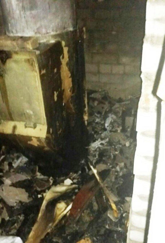Пожар в многоэтажке Днепра: загорелся мусоросборник (ФОТО), фото-1