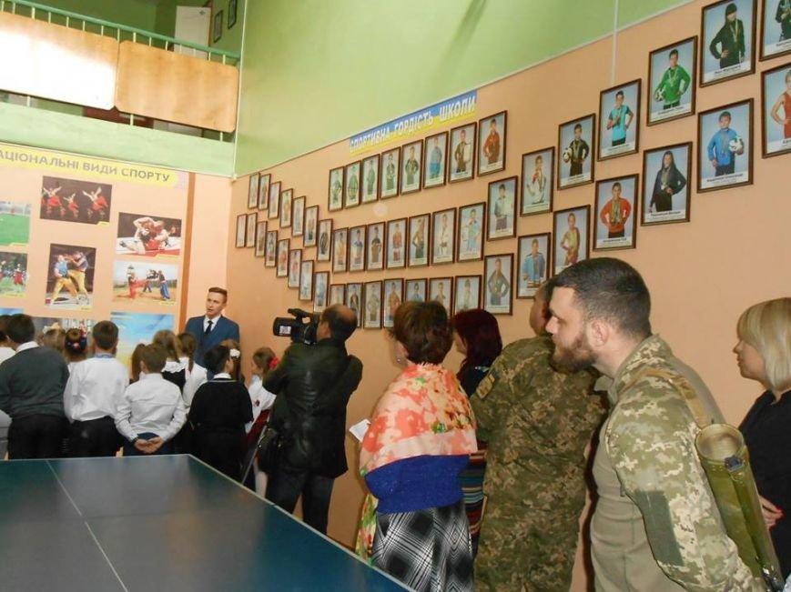 У херсонській школі було відкрито Центр національно–патріотичного виховання (фото), фото-3