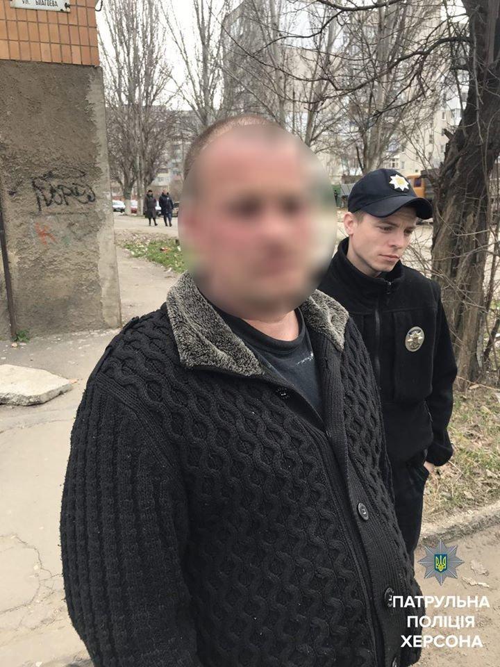 Херсонские патрульные остановили нетрезвого водителя такси (фото), фото-1
