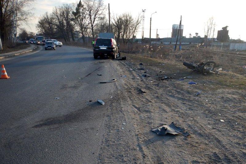 Под Белгородом разбился мотоциклист, фото-2