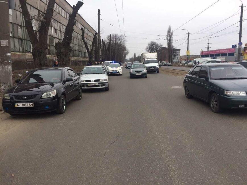 ДТП с пострадавшими: в Днепре иномарка сбила пешехода (ФОТО), фото-1
