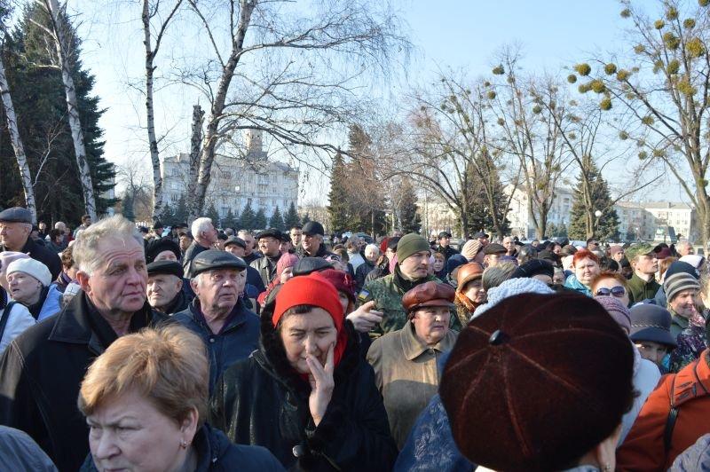 В Краматорске столкнулись сторонники и противники блокады, фото-3