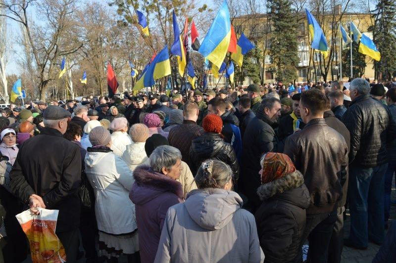 В Краматорске столкнулись сторонники и противники блокады, фото-1