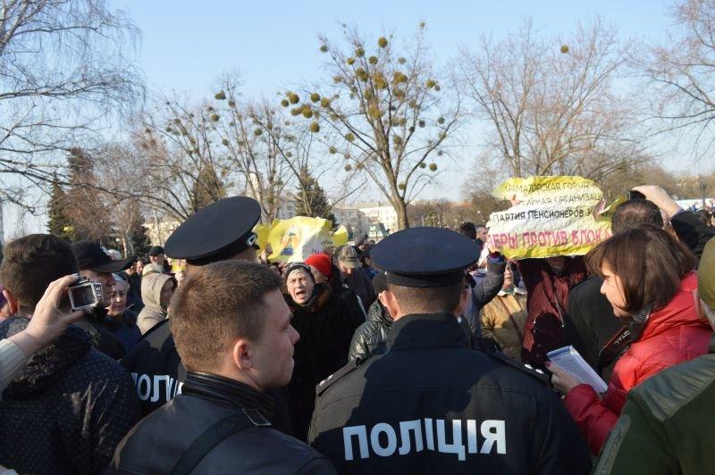 В Краматорске столкнулись сторонники и противники блокады, фото-2