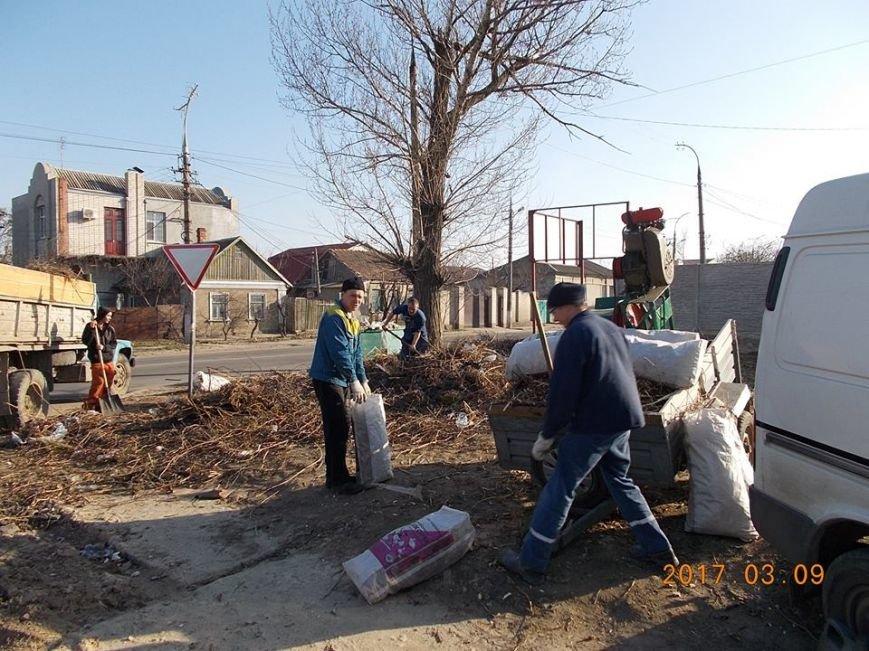 В Херсоні ліквідують сміттєзвалище (фото), фото-1