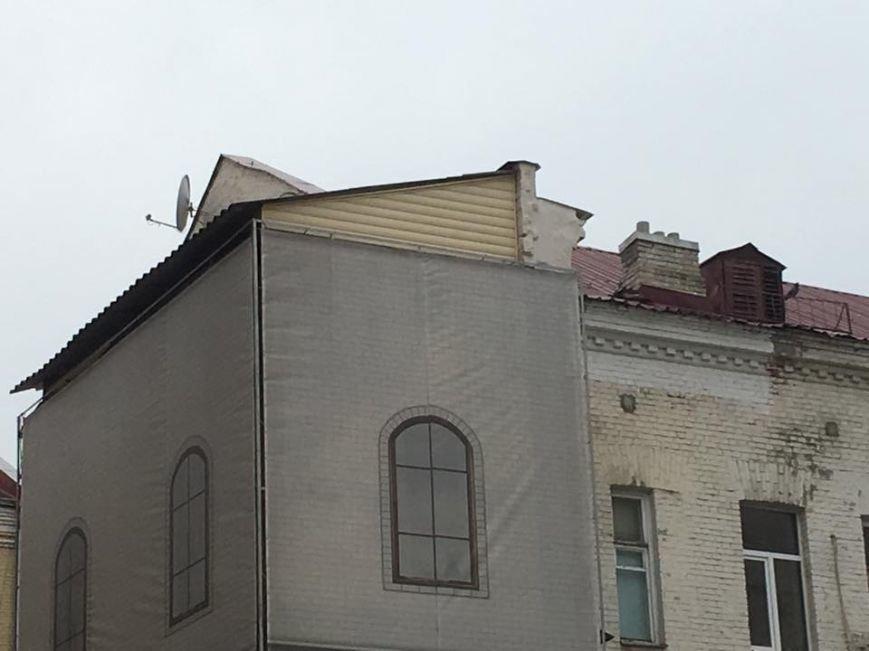 В историческом доме на Малой Житомирской ведутся незаконные стройработы (ФОТО), фото-1
