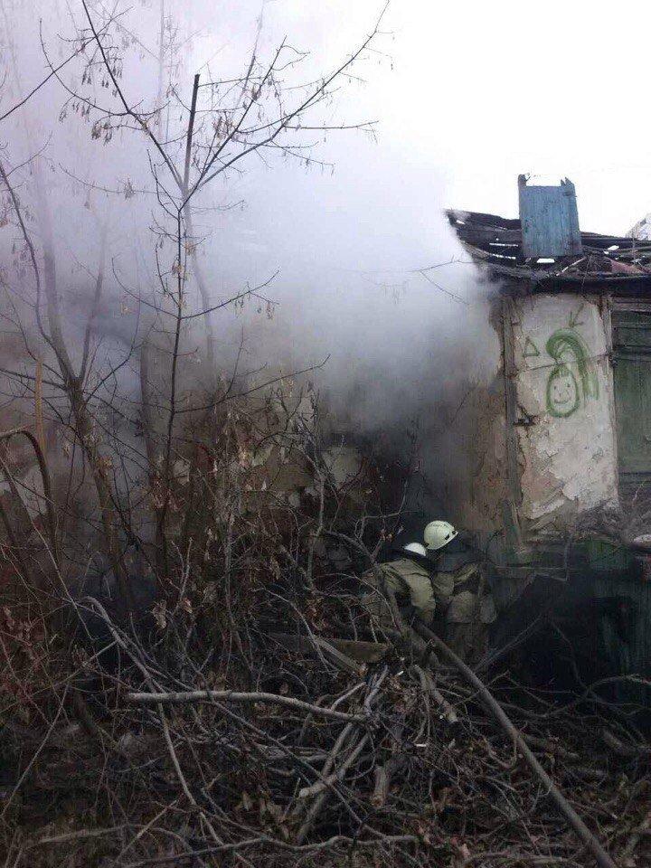 В Днепре горело заброшенное здание (ФОТО), фото-2