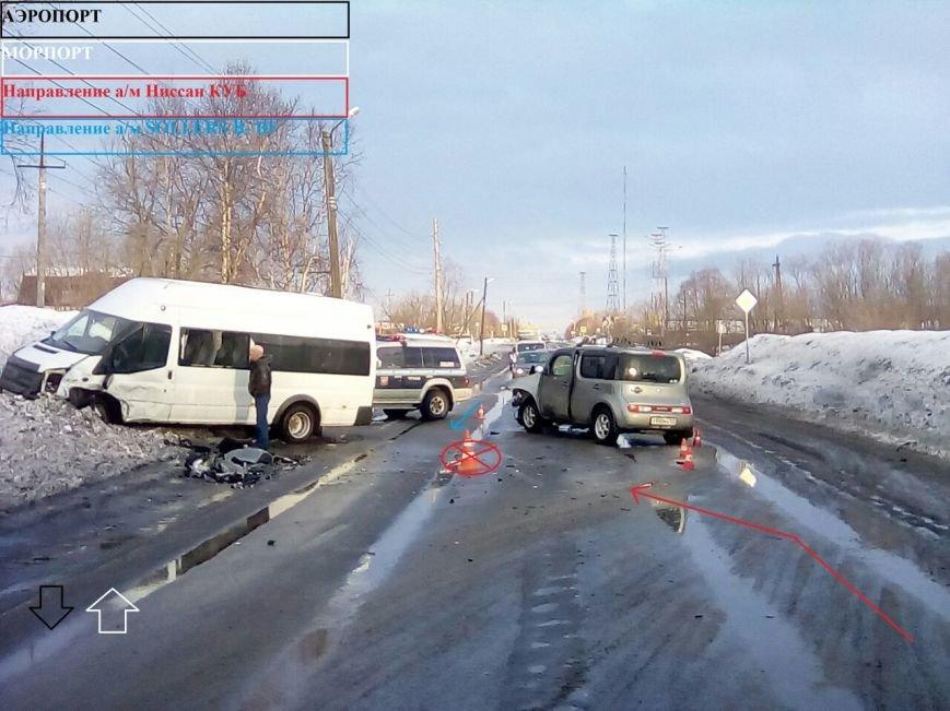 На Камчатке в пассажирский «микрик» №104 влетела иномарка, фото-2