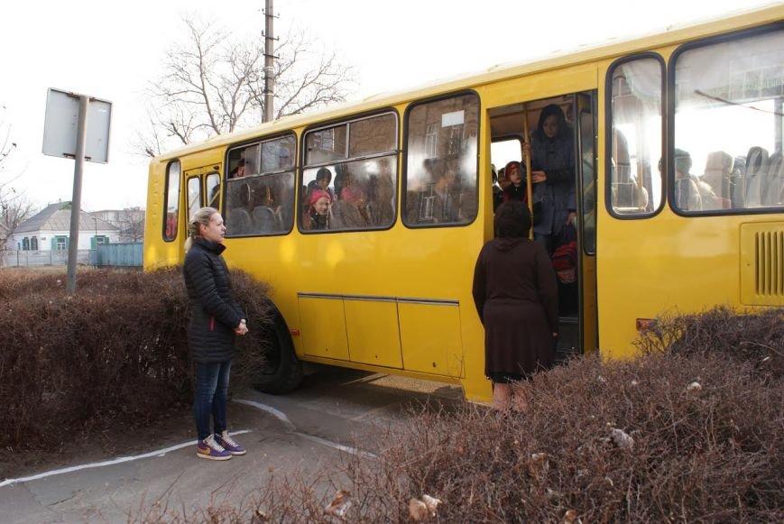 """В Каменском презентовали """"Школьный автобус"""", фото-1"""