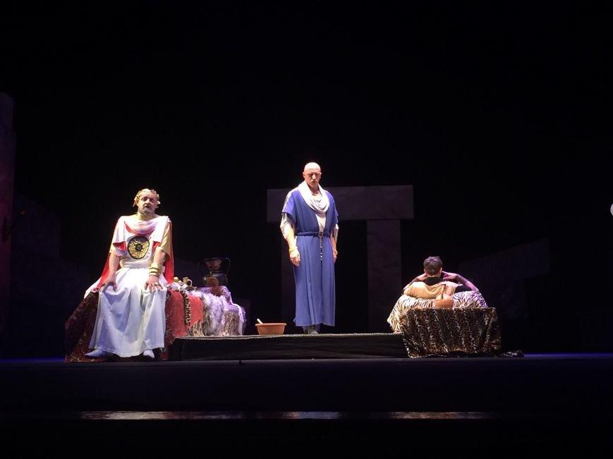 В Каменском театре снова показали «Забыть Герострата», фото-2