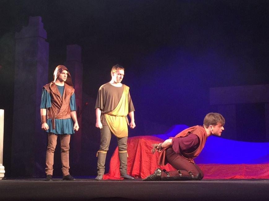 В Каменском театре снова показали «Забыть Герострата», фото-4