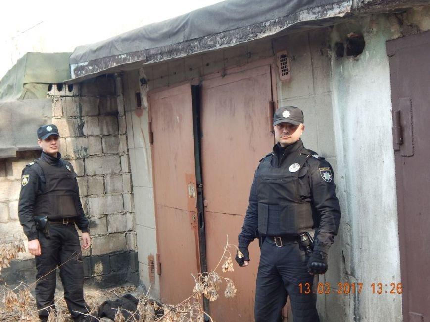В Каменском задержали гаражных воров, фото-1