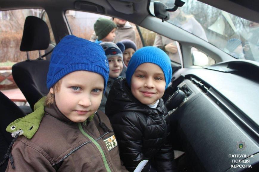 Херсонські патрульні вкотре відвідали Автошколу вихідного дня (фото), фото-2