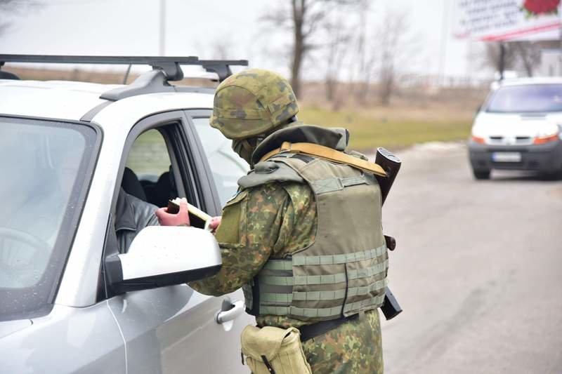 В Краматорской оперативной зоне усилены меры безопасности, фото-7