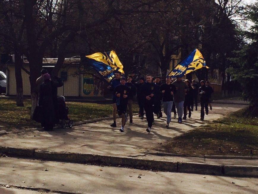 В Краматорске состоялась патриотическая пробежка, фото-2