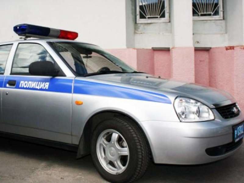 Машина полиция