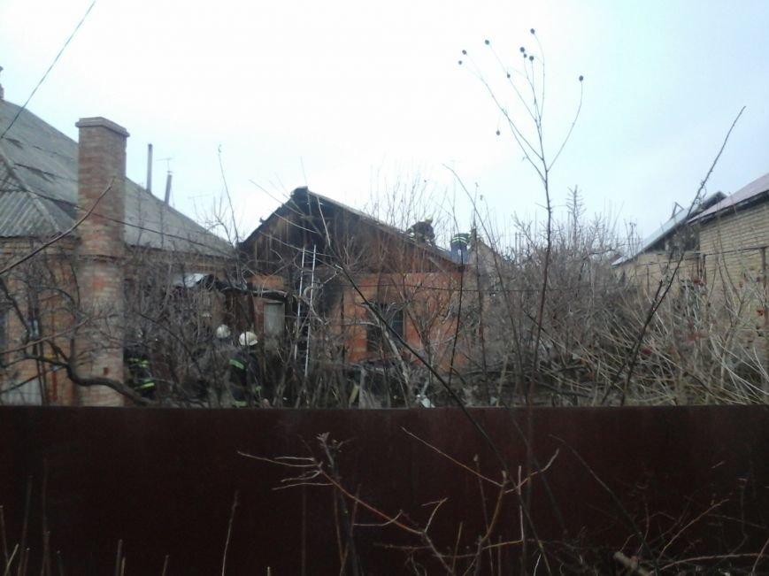 На Днепропетровщине при пожаре погибла 90-летняя женщина (ФОТО), фото-1