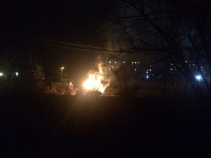 Кременчужани з поліцією проінспектували сусідів, які спалюють сухе листя, фото-1