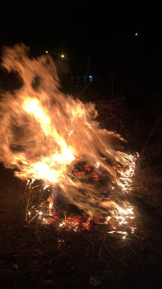 Кременчужани з поліцією проінспектували сусідів, які спалюють сухе листя, фото-4