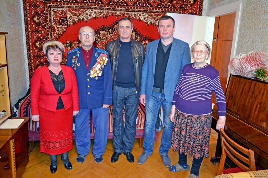 Ветерана Алупки Анатолия Панкова поздравили с юбилеем, фото-2
