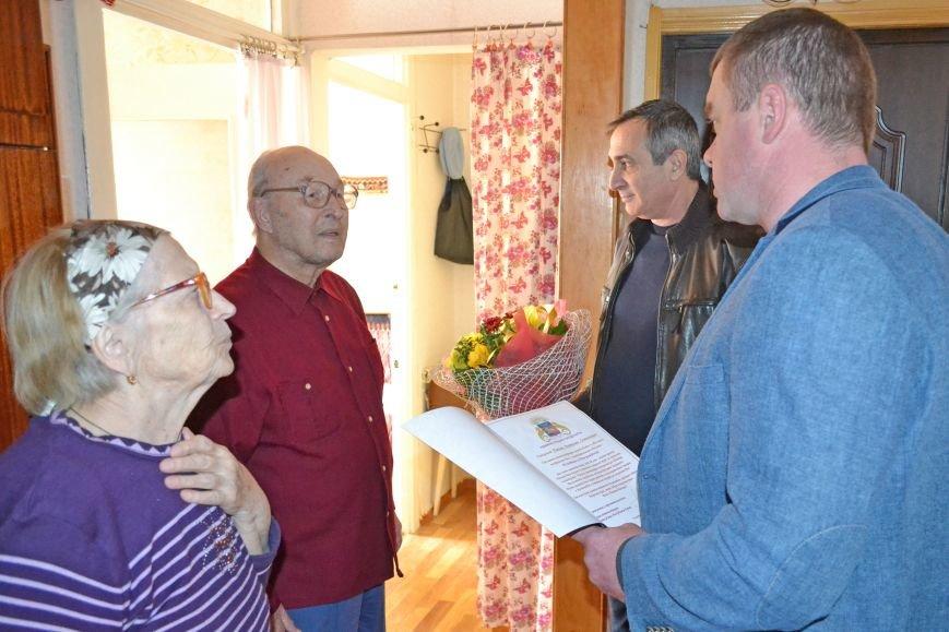 Ветерана Алупки Анатолия Панкова поздравили с юбилеем, фото-1