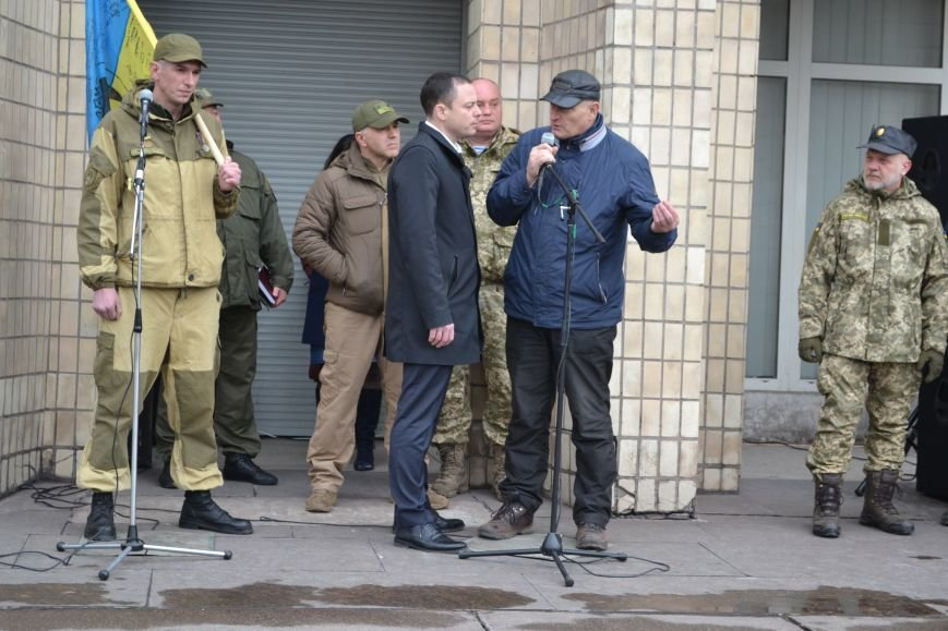 В Каменском отметили День украинского добровольца, фото-4