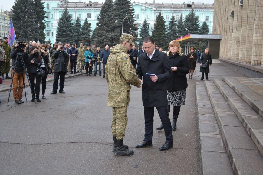 В Каменском отметили День украинского добровольца, фото-1