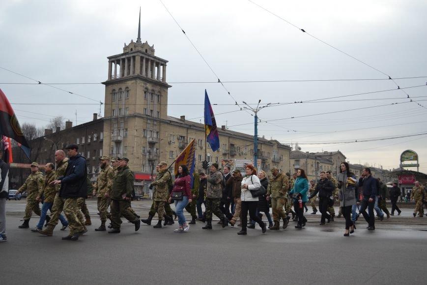 В Каменском отметили День украинского добровольца, фото-7