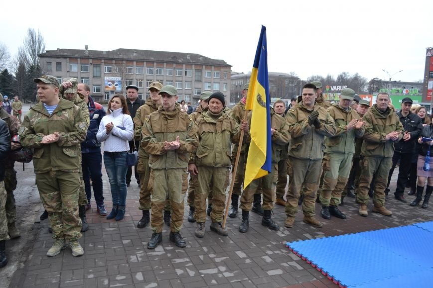 В Каменском отметили День украинского добровольца, фото-2