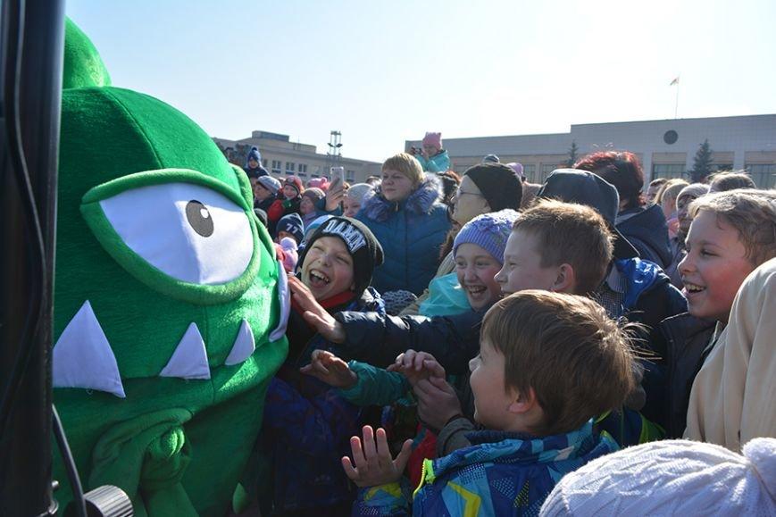 Как Бонстики развлекали ребят в Полоцке и Новополоцке. ФОТОРЕПОРТАЖ, фото-15