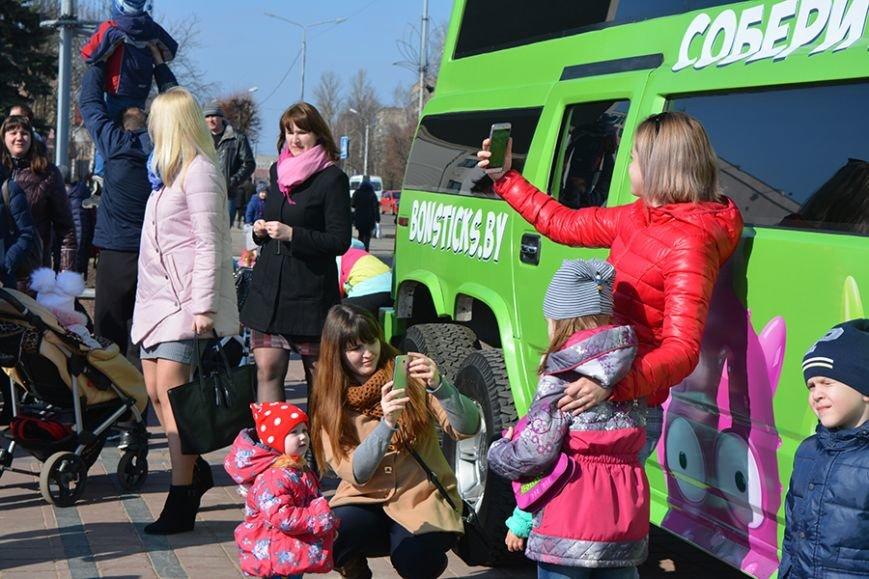 Как Бонстики развлекали ребят в Полоцке и Новополоцке. ФОТОРЕПОРТАЖ, фото-6