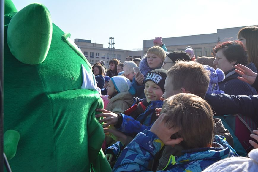 Как Бонстики развлекали ребят в Полоцке и Новополоцке. ФОТОРЕПОРТАЖ, фото-14
