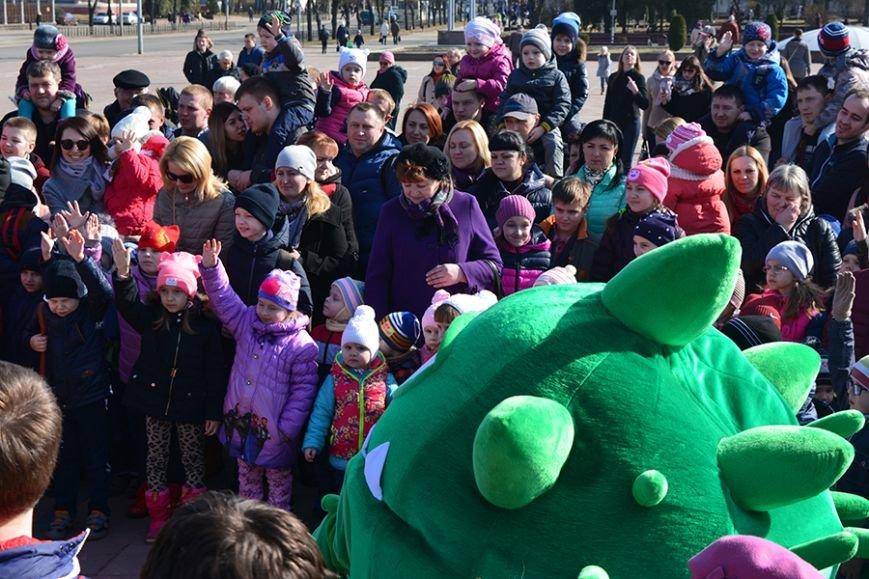 Как Бонстики развлекали ребят в Полоцке и Новополоцке. ФОТОРЕПОРТАЖ, фото-9