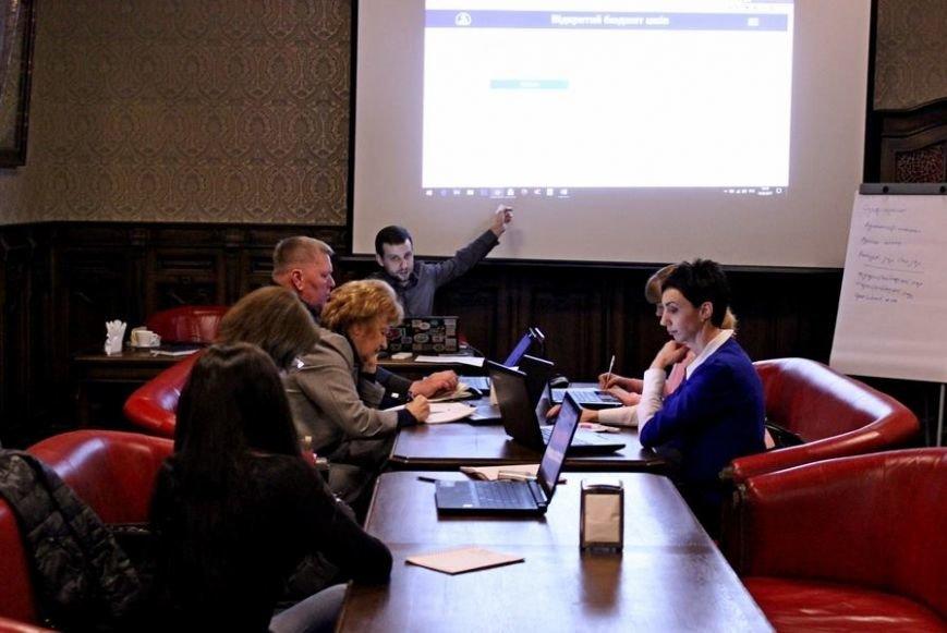 Херсонские школы начинают работать с системой прозрачных бюджетов (фото), фото-1