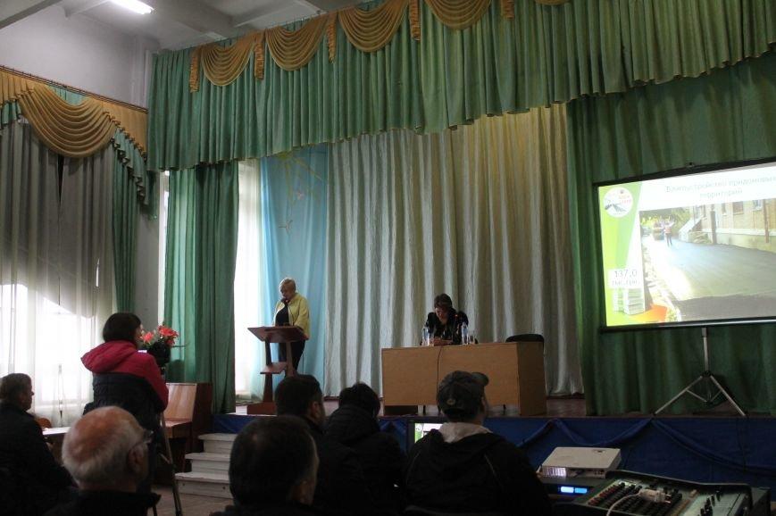 Состоялось заключительное общественное обсуждение социального проекта в ОШ №24, фото-1