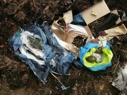 В Днепропетровской области нашли тайник с боеприпасами и оружием (ФОТО), фото-2