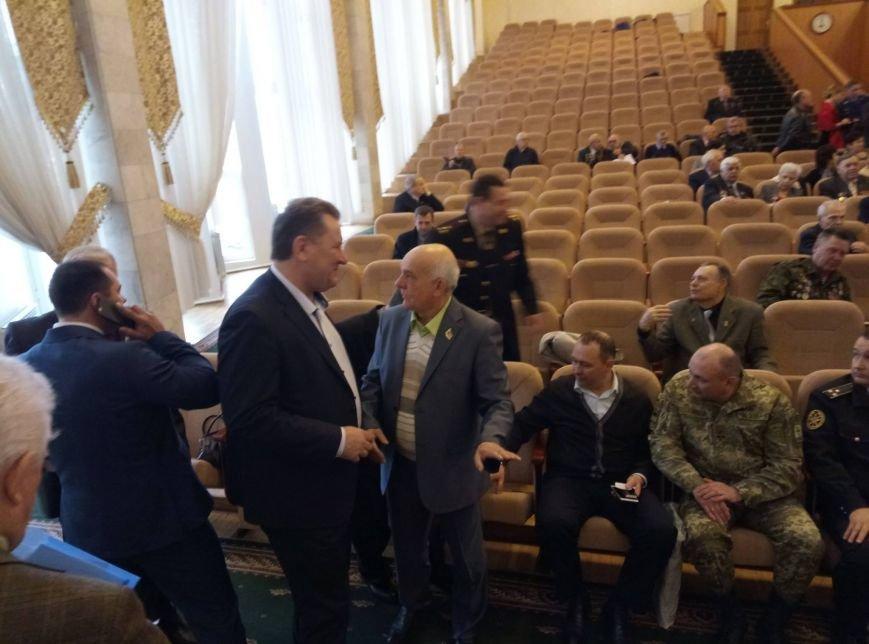 Юрий Бузько от имени руководства Черноморска поздравил Организацию Ветеранов Одесской области с юбилеем, фото-1