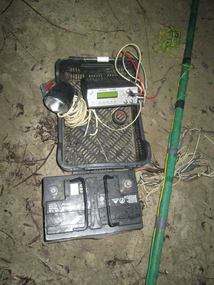 """На Псле браконьер """"ловил"""" рыбу, используя устройство для преобразования электротока (ФОТО), фото-1"""