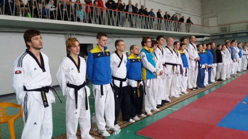 Спортсмены из Каменского приняли участие в чемпионате Украине по тхэквондо, фото-1