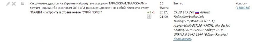 Расследование: кто пишет пророссийские комментарии на 061 и других сайтах сети CitySites, фото-23