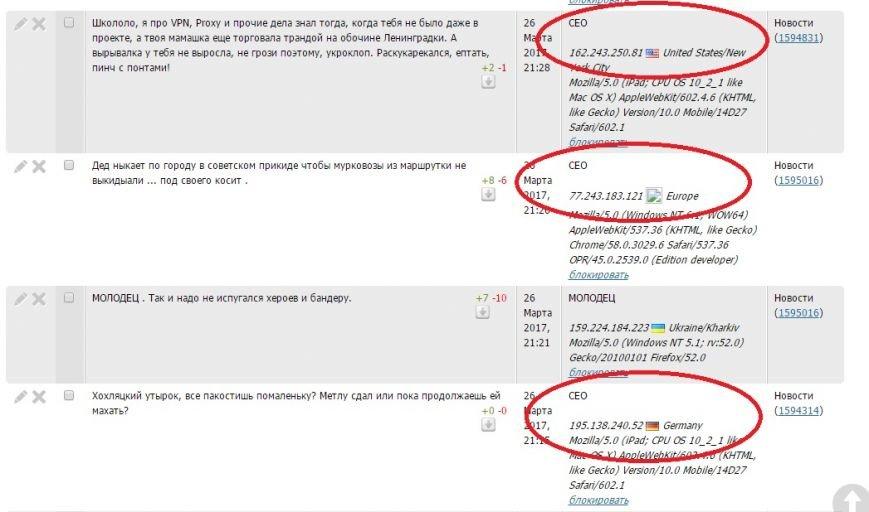 Расследование: кто пишет пророссийские комментарии на 061 и других сайтах сети CitySites, фото-38