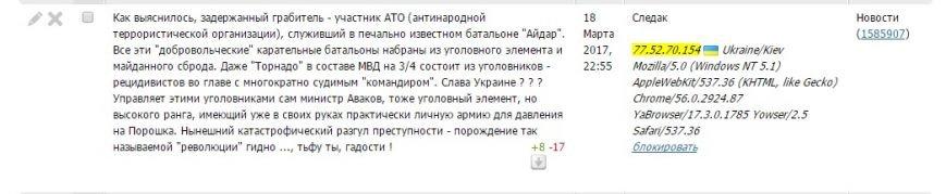 Расследование: кто пишет пророссийские комментарии на 061 и других сайтах сети CitySites, фото-18