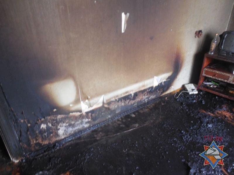 Пожар в многоэтажном доме в Полоцке: погибла женщина, фото-2