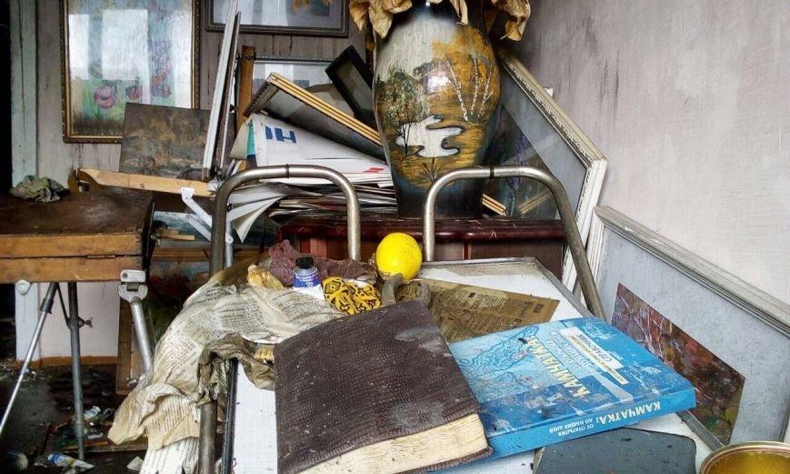 В Петропавловске сгорели две мастерские «Дома Художников», фото-4
