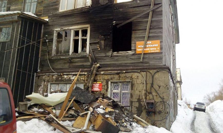 В Петропавловске сгорели две мастерские «Дома Художников», фото-1